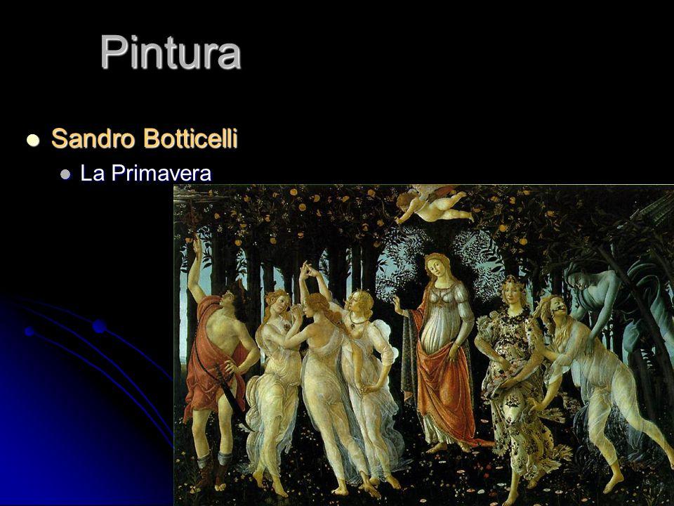 Pintura Sandro Botticelli La Primavera
