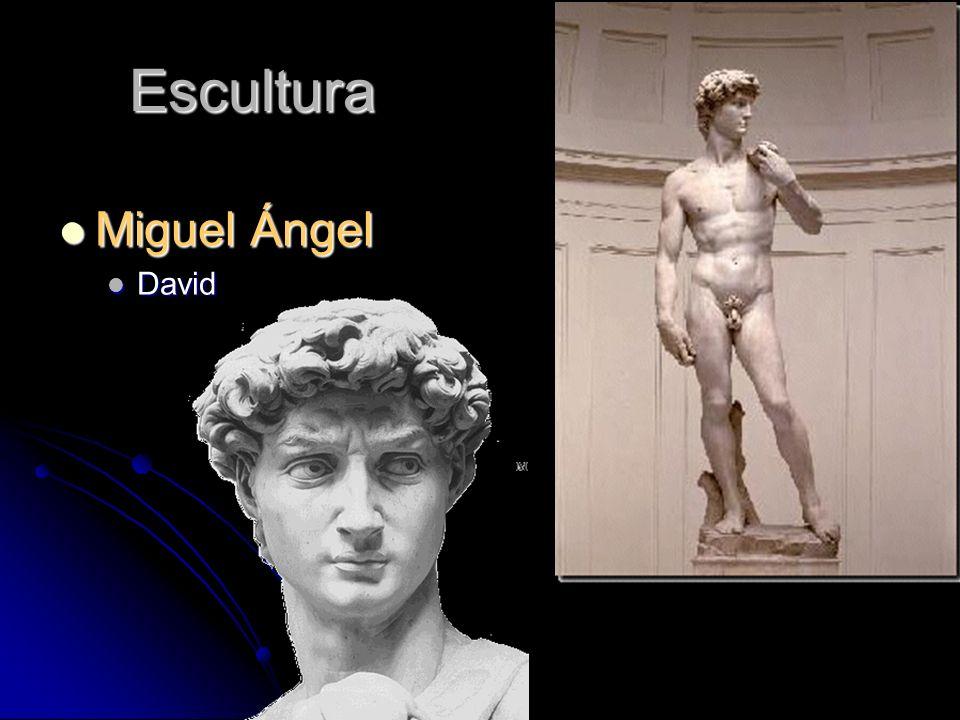 Escultura Miguel Ángel David