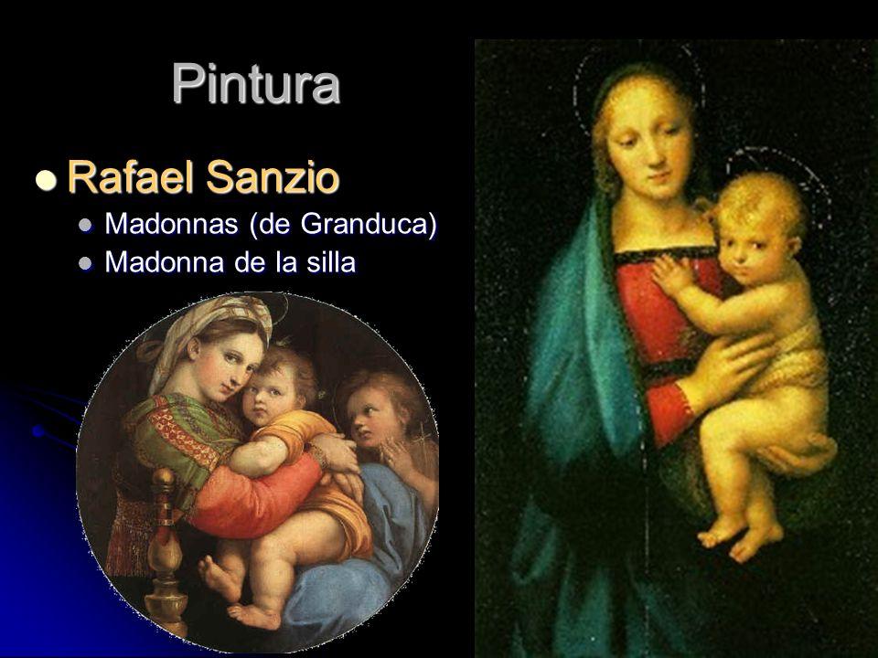 Pintura Rafael Sanzio Madonnas (de Granduca) Madonna de la silla