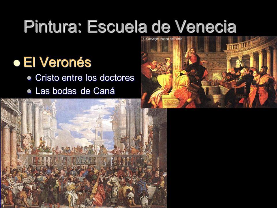 Pintura: Escuela de Venecia
