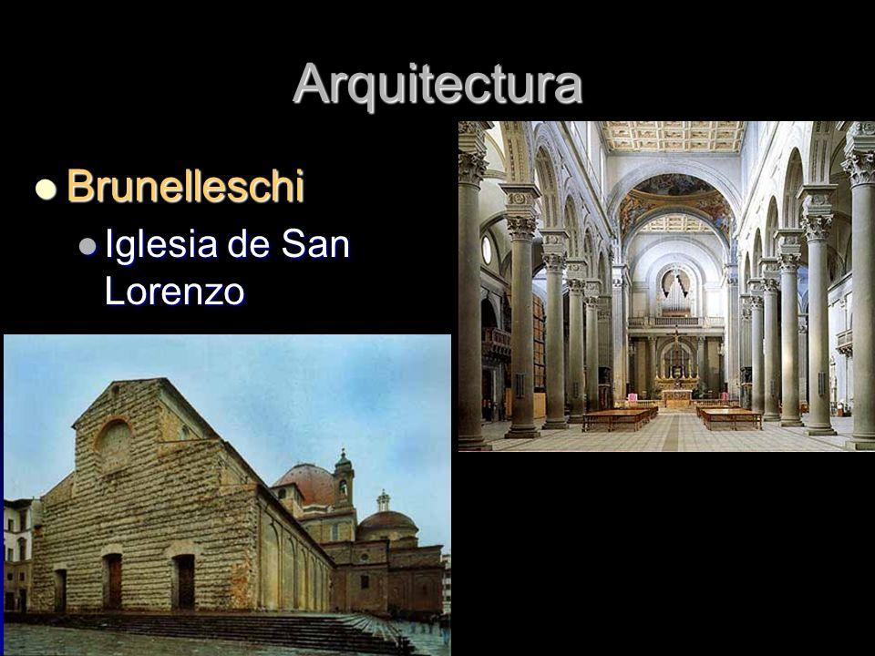 Arquitectura Brunelleschi Iglesia de San Lorenzo
