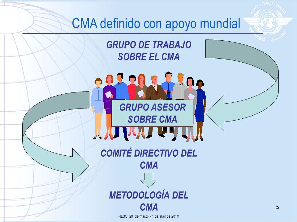 COMITÉ DIRECTIVO DEL CMA
