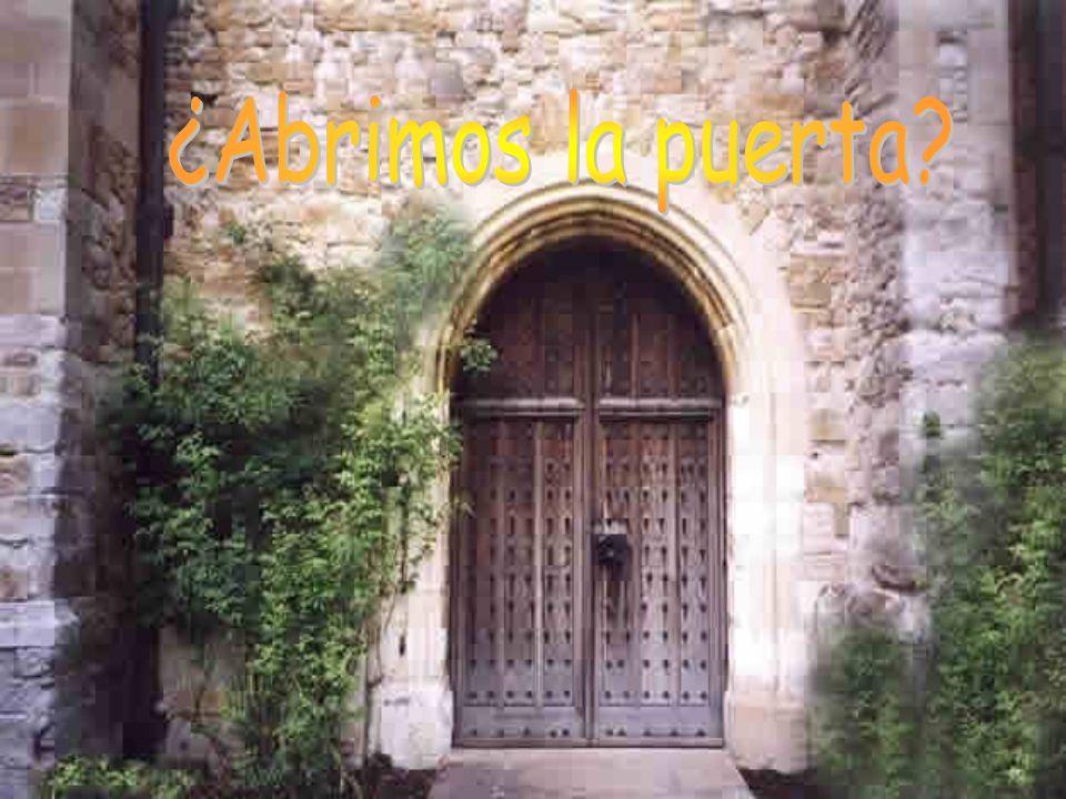 ¿Abrimos la puerta