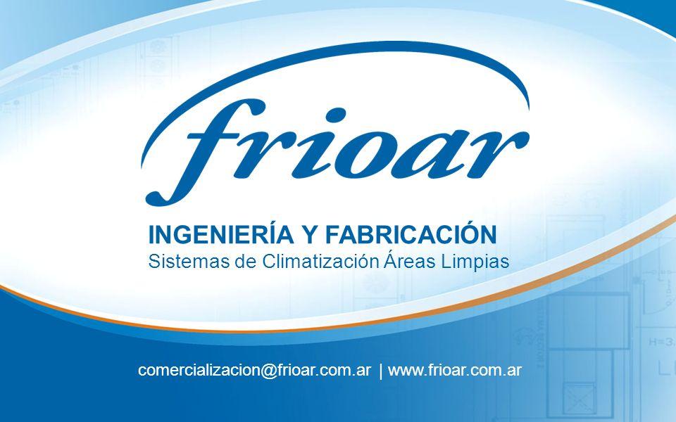 comercializacion@frioar.com.ar | www.frioar.com.ar