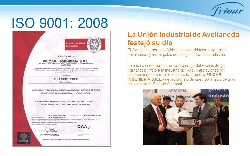 ISO 9001: 2008 La Unión Industrial de Avellaneda festejó su día