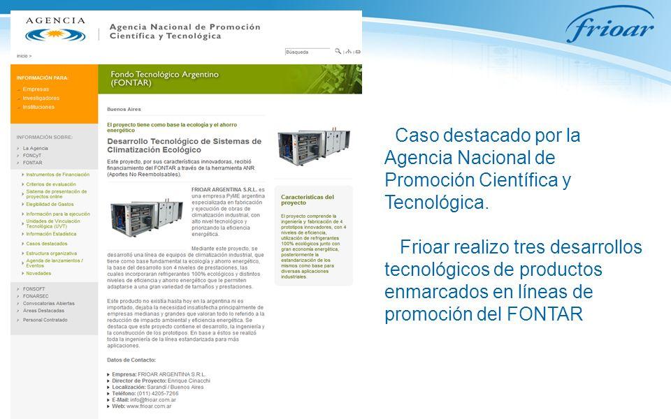 Caso destacado por la Agencia Nacional de Promoción Científica y Tecnológica.