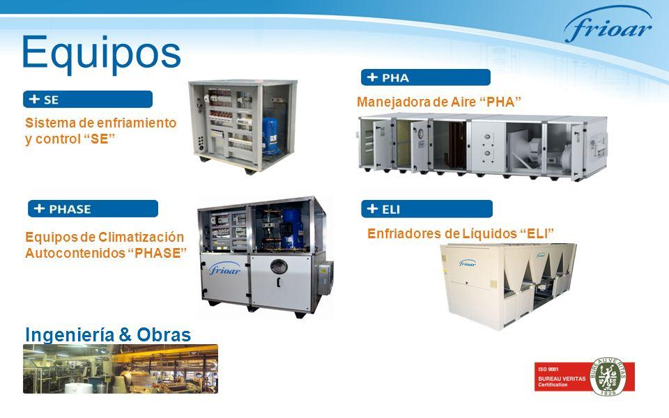 Equipos Ingeniería & Obras Manejadora de Aire PHA