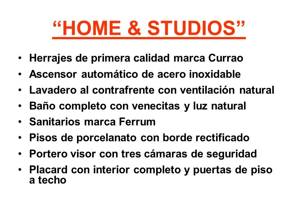 HOME & STUDIOS Herrajes de primera calidad marca Currao