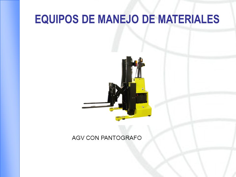 EQUIPOS DE MANEJO DE MATERIALES
