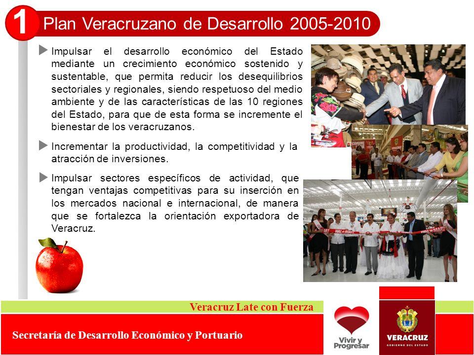 1 Plan Veracruzano de Desarrollo 2005-2010 Veracruz Late con Fuerza