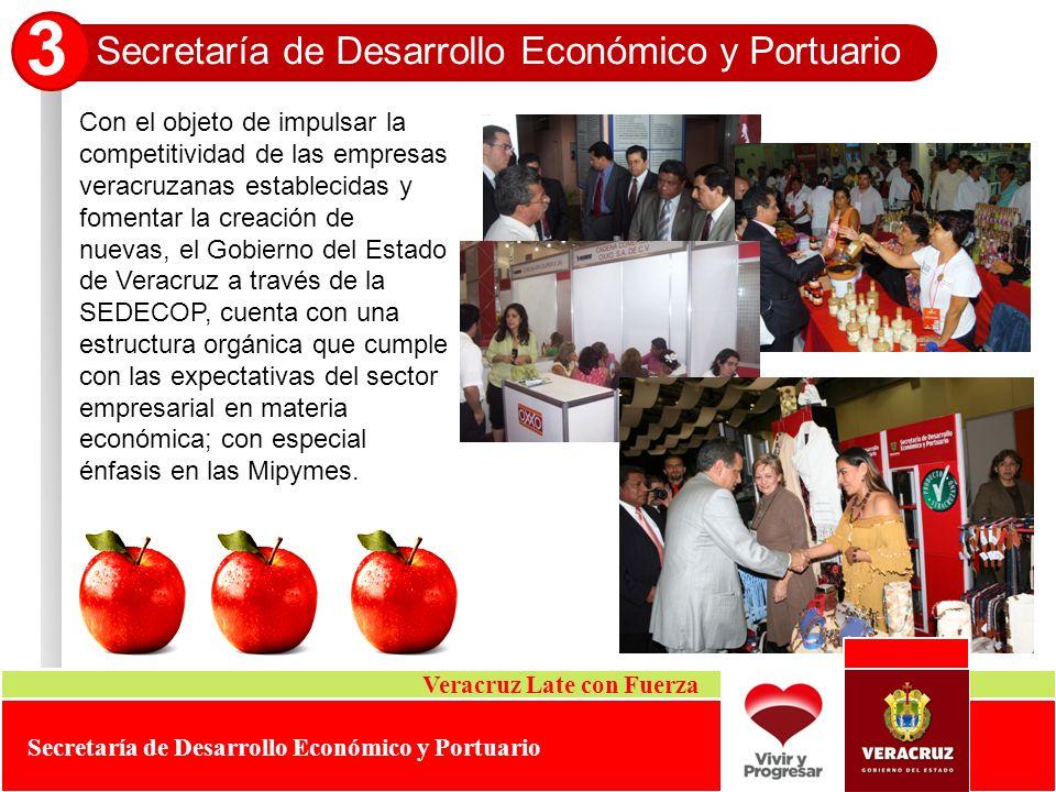 3 Secretaría de Desarrollo Económico y Portuario