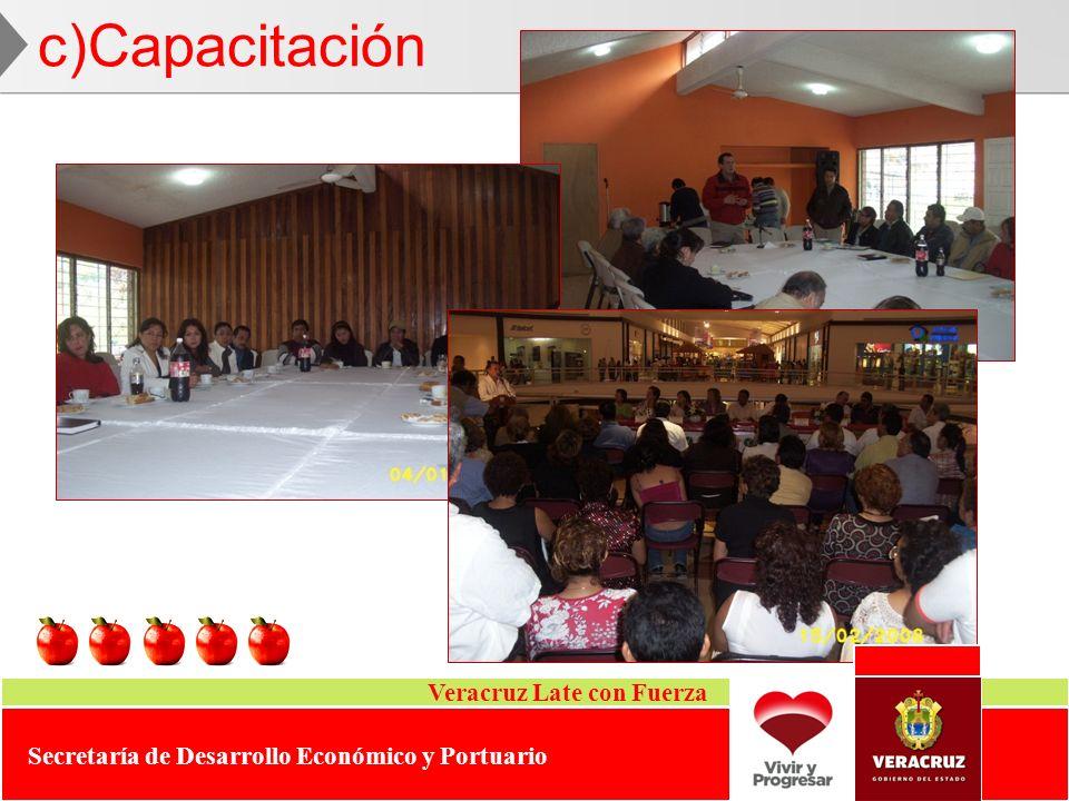 c)Capacitación Veracruz Late con Fuerza