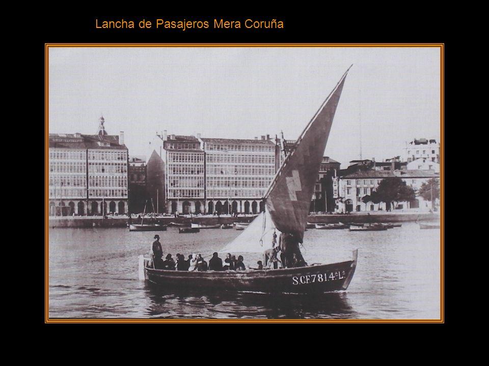 Lancha de Pasajeros Mera Coruña