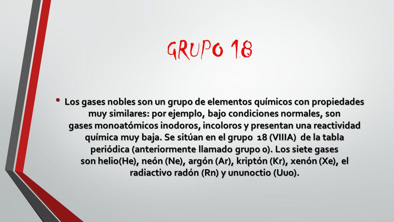 Tabla periodica la tabla peridica de los elementos es una grupo 18 urtaz Choice Image