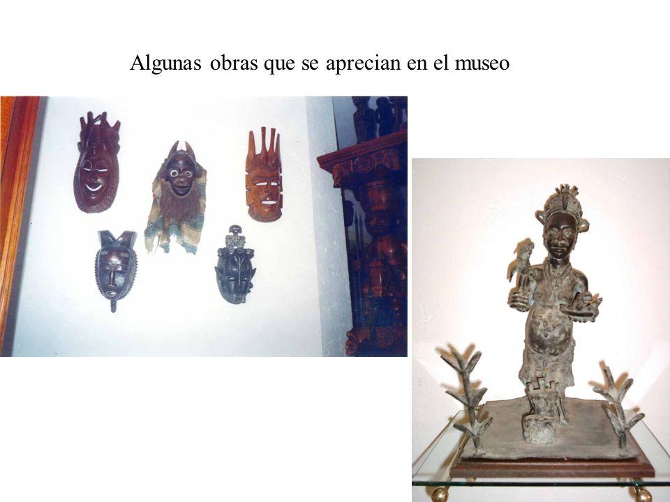 Algunas obras que se aprecian en el museo