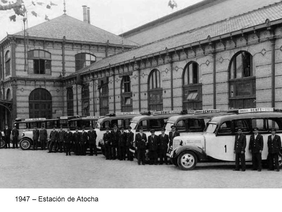 1947 – Estación de Atocha