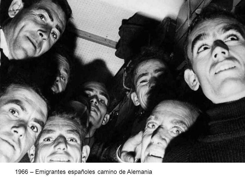 1966 – Emigrantes españoles camino de Alemania