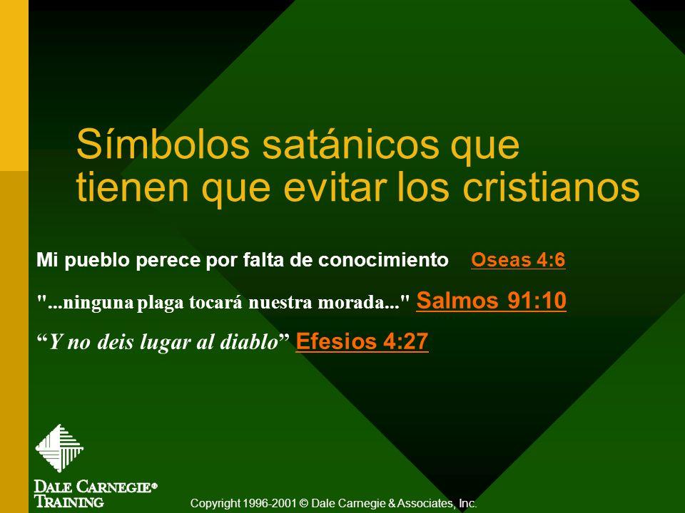 Símbolos satánicos que tienen que evitar los cristianos