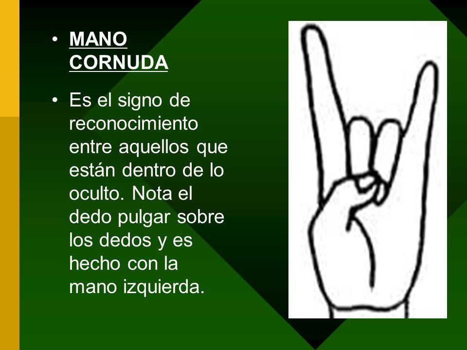 MANO CORNUDA