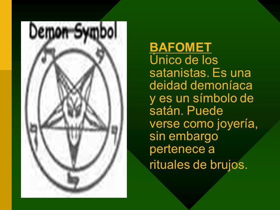 BAFOMET Único de los satanistas