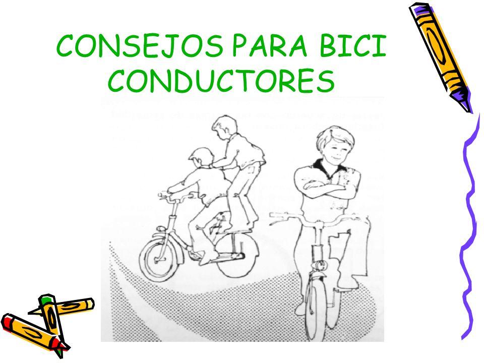 CONSEJOS PARA BICI CONDUCTORES