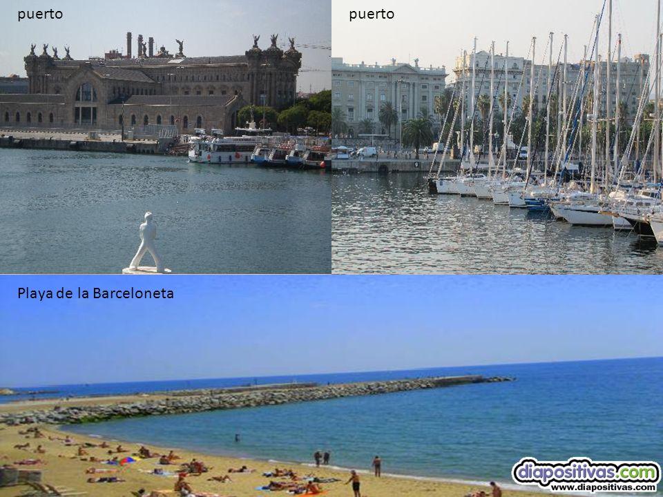 puerto puerto Playa de la Barceloneta