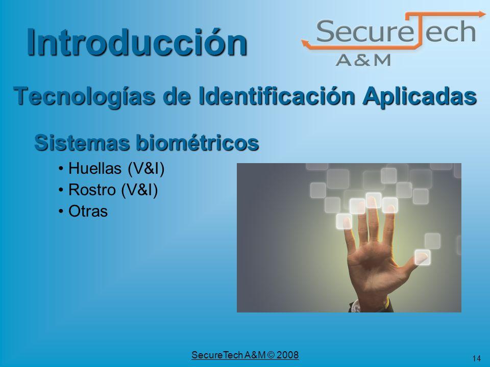 Tecnologías de Identificación Aplicadas
