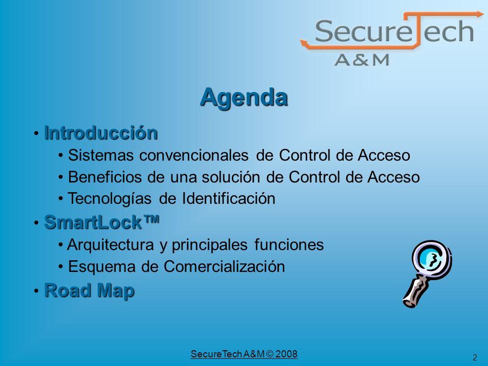 Agenda Introducción Sistemas convencionales de Control de Acceso