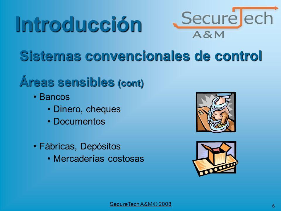 Sistemas convencionales de control