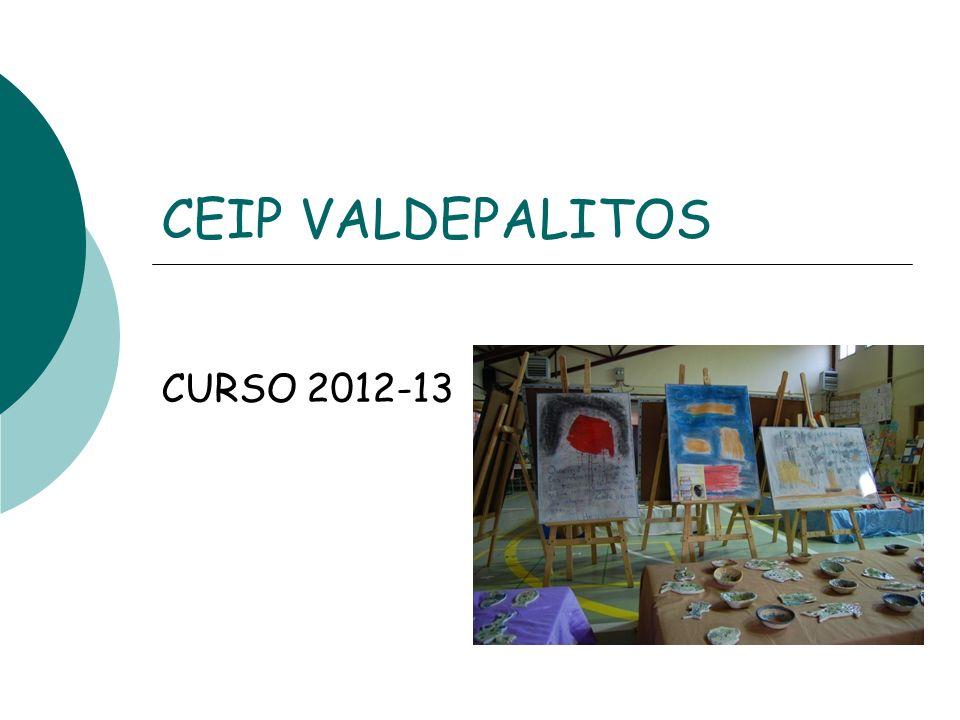 CEIP VALDEPALITOS CURSO 2012-13