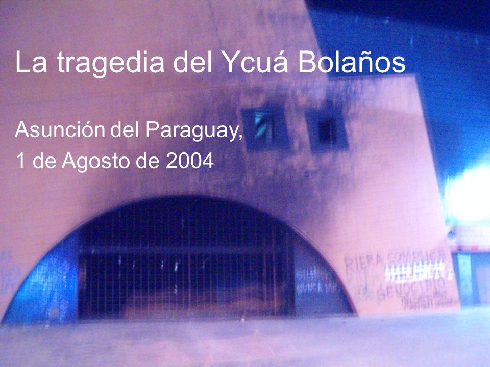 La tragedia del Ycuá Bolaños