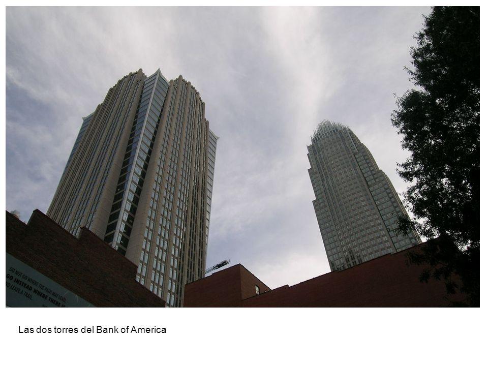 Las dos torres del Bank of America