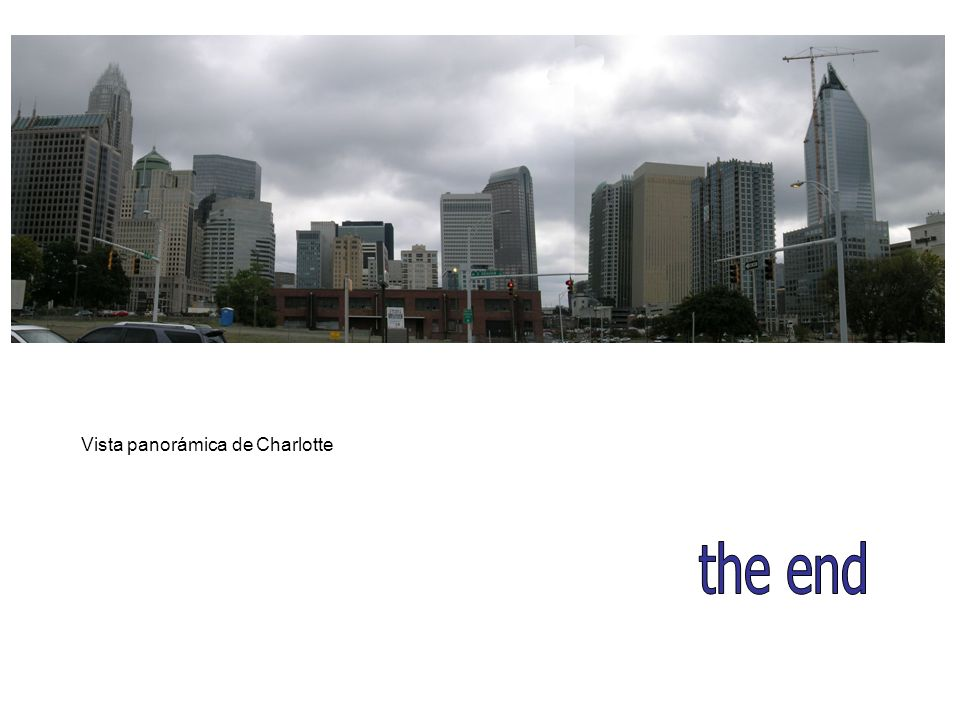 Vista panorámica de Charlotte