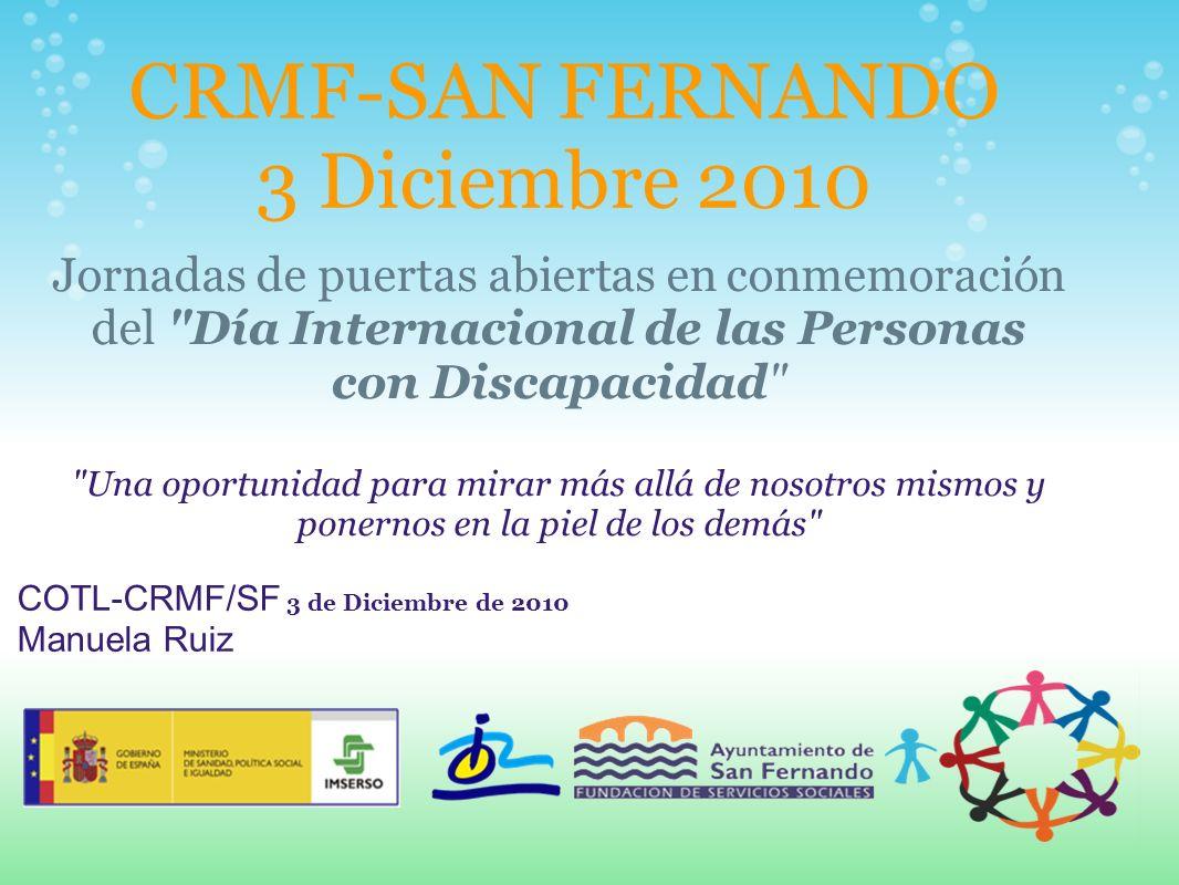 CRMF-SAN FERNANDO 3 Diciembre 2010