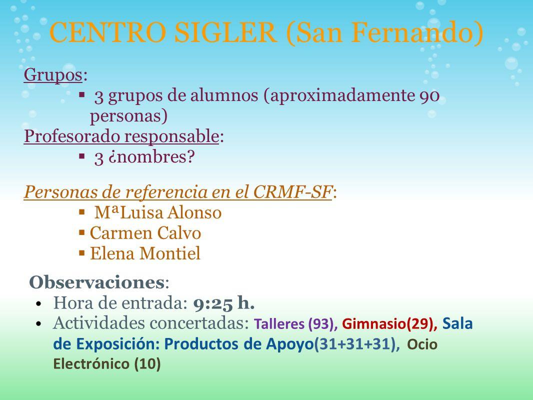 CENTRO SIGLER (San Fernando)