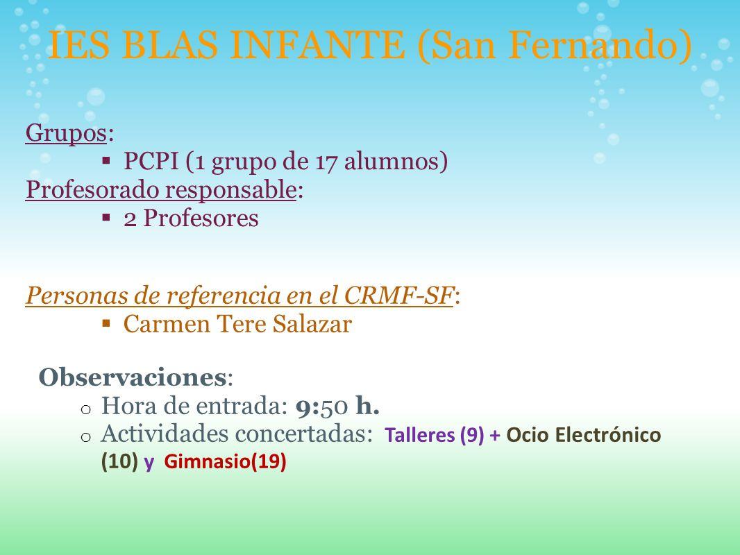 IES BLAS INFANTE (San Fernando)