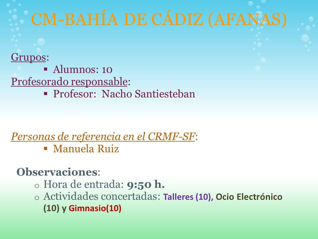 CM-BAHÍA DE CÁDIZ (AFANAS)