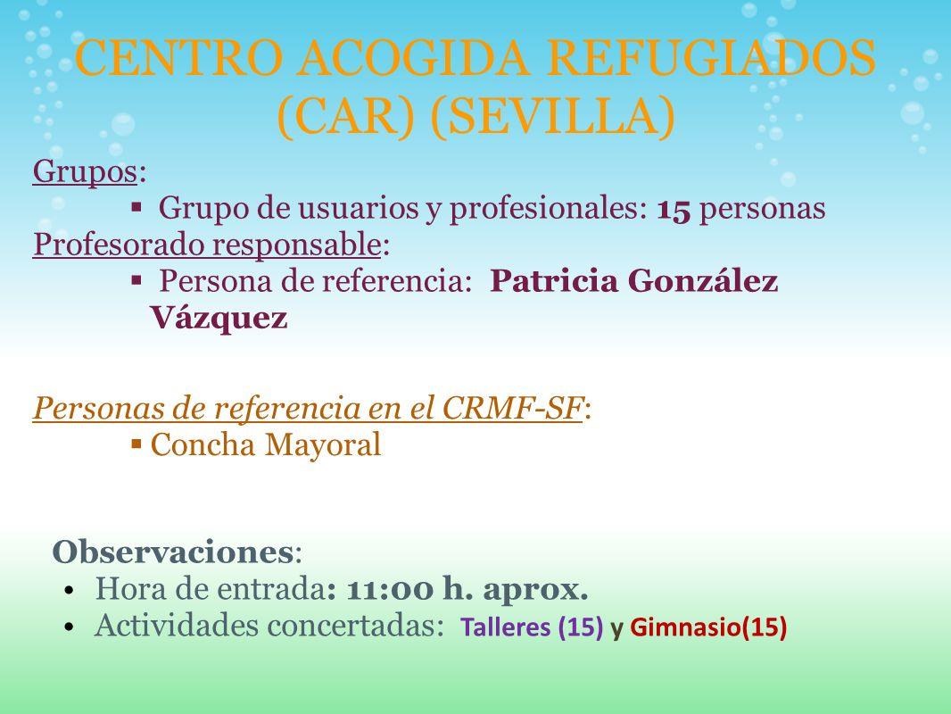 CENTRO ACOGIDA REFUGIADOS (CAR) (SEVILLA)