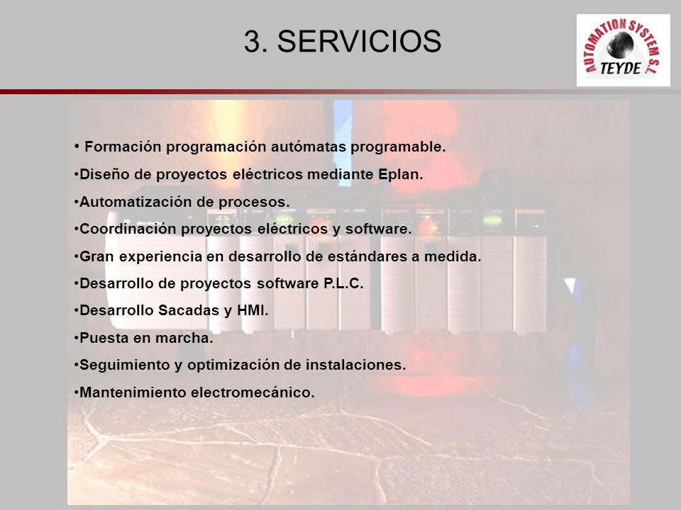 3. SERVICIOS Formación programación autómatas programable.