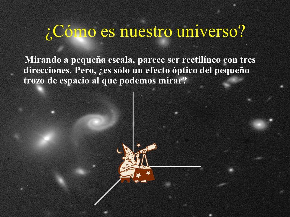 ¿Cómo es nuestro universo