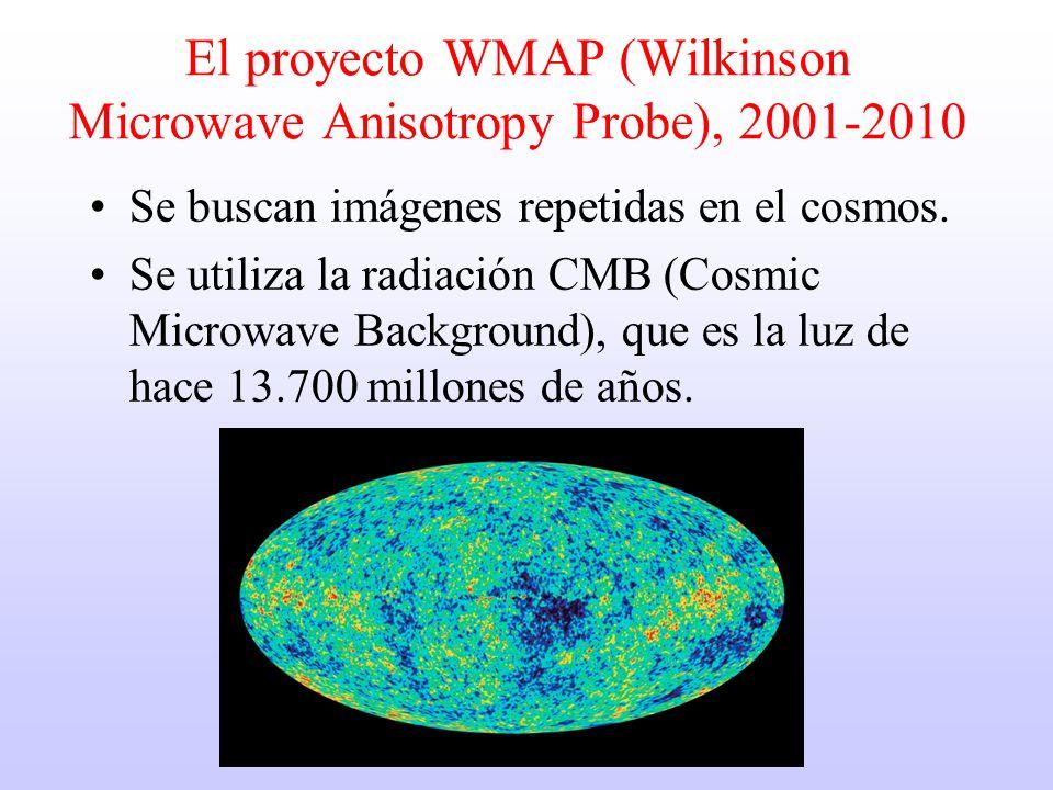 El proyecto WMAP (Wilkinson Microwave Anisotropy Probe), 2001-2010