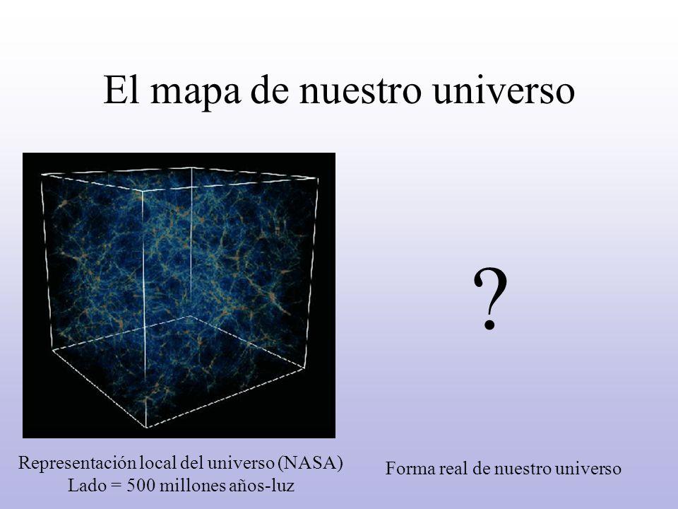 El mapa de nuestro universo