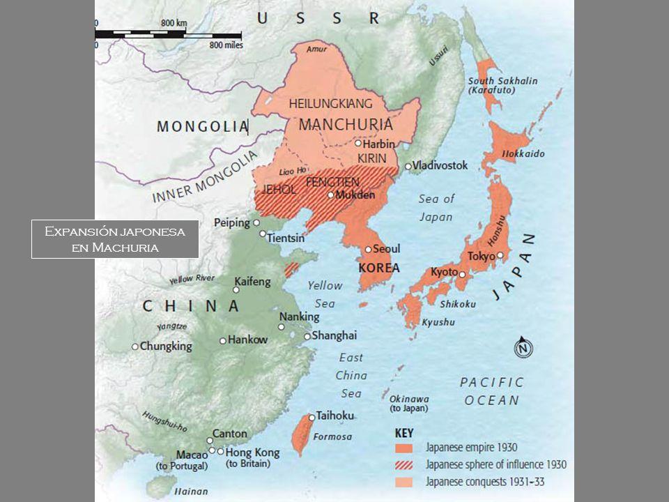 Expansión japonesa en Machuria
