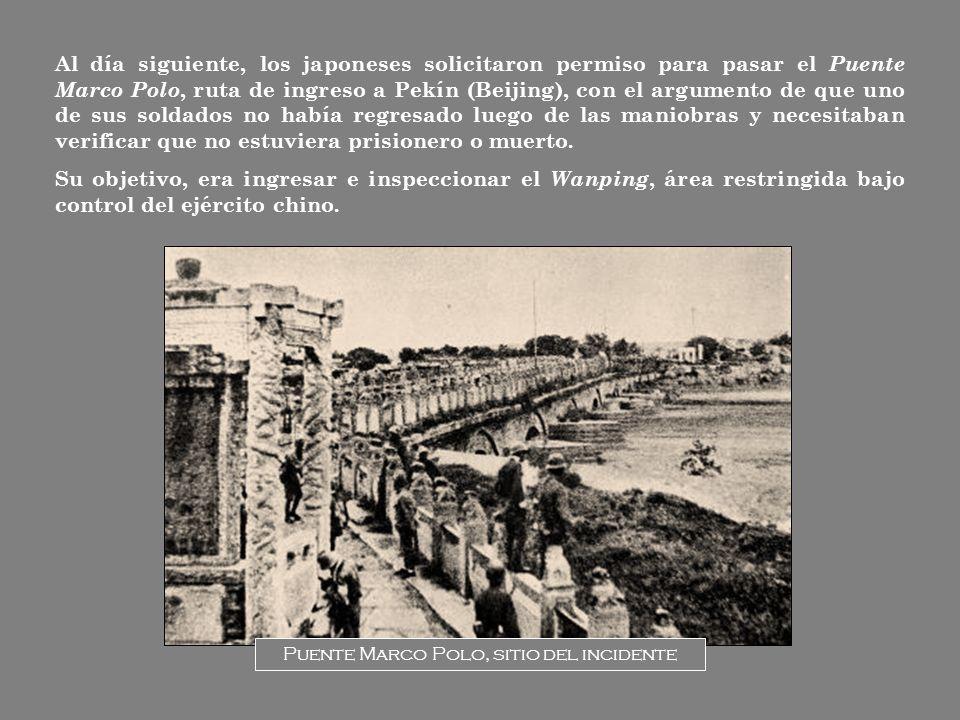 Puente Marco Polo, sitio del incidente