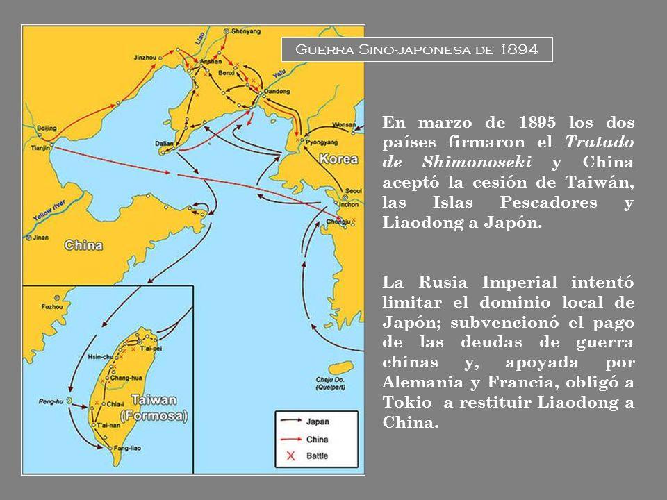 Guerra Sino-japonesa de 1894