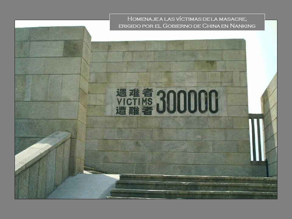 Homenaje a las víctimas de la masacre,