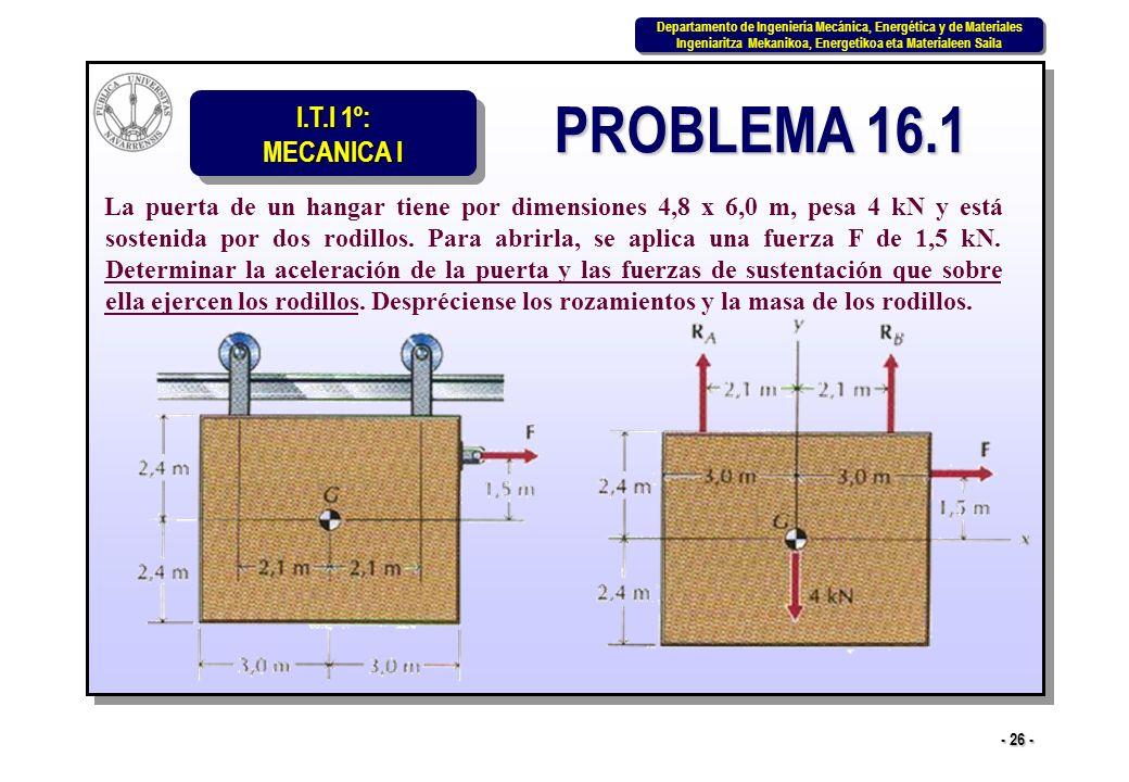 PROBLEMA 16.1