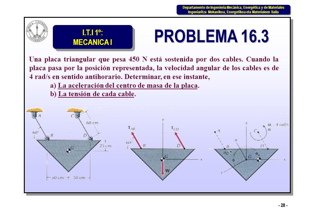 PROBLEMA 16.3