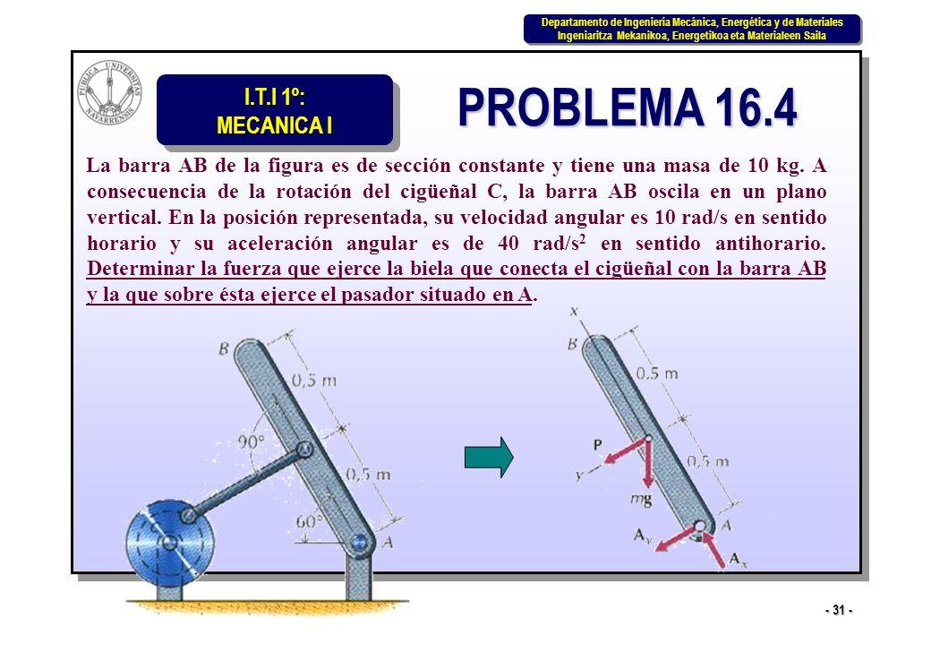 PROBLEMA 16.4