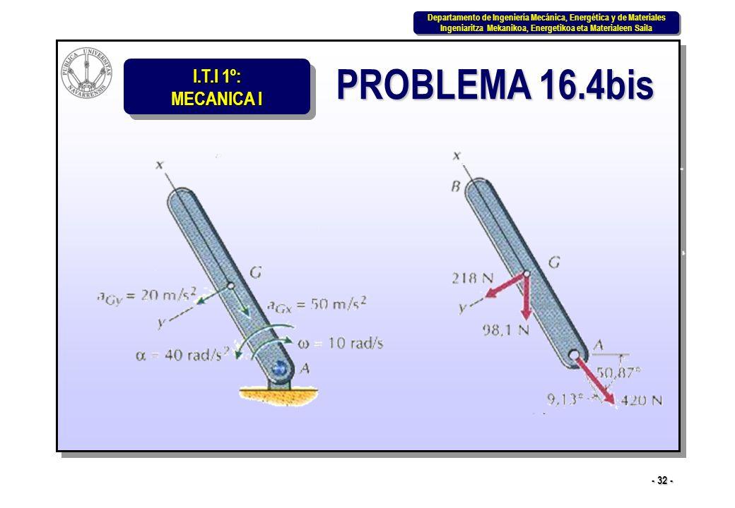 PROBLEMA 16.4bis